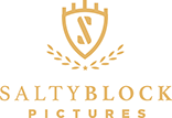 Salty Block pictures logo Yellow